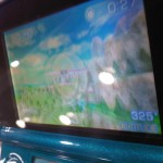 A side-on view of the 3DS in 3D Mode